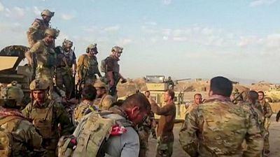 Las fuerzas afganas retoman una capital de provincia tras la incursión de los talibanes