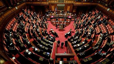 Italian parliament lowers voting age for Senate elections