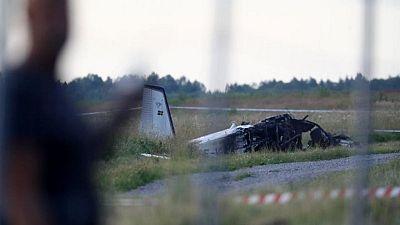Nine found dead in Swedish airplane crash -police