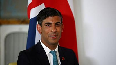 UK's Sunak calls for progress on global tax deal at G20 gathering