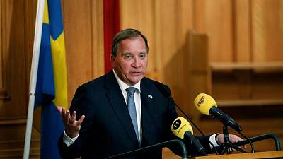 Swedish PM Lofven names unchanged cabinet