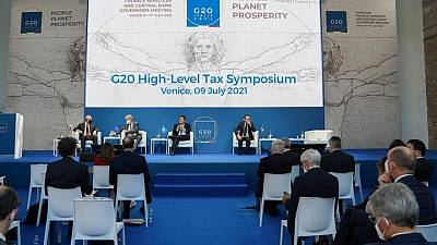 G20 to call for global tax deal to be finalized by October
