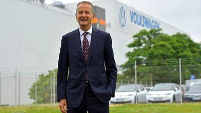 Volkswagen boss Diess gets contract extension