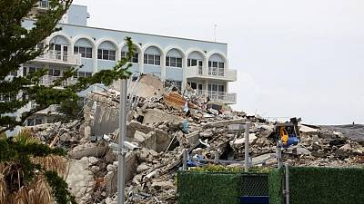 رئيسة البلدية: ارتفاع عدد قتلى انهيار مبنى ميامي بأمريكا إلى 90