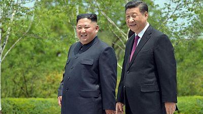 وكالة: زعيما كوريا الشمالية والصين يتعهدان بزيادة التعاون في مواجهة العداء الخارجي
