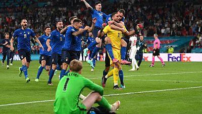 Italia vence por penales a Inglaterra y se consagra campeón de la Eurocopa