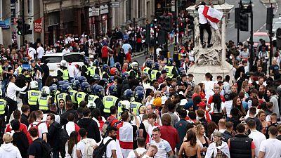 شرطة لندن: إصابة 19 شرطيا خلال نهائي بطولة أوروبا لكرة القدم