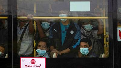 Myanmar military says to ramp up oxygen supply as COVID-19 cases surge