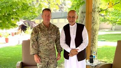 In symbolic end to war, U.S. general to step down from command in Afghanistan