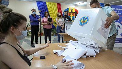 فوز حزب موال للغرب في الانتخابات البرلمانية في مولدوفا