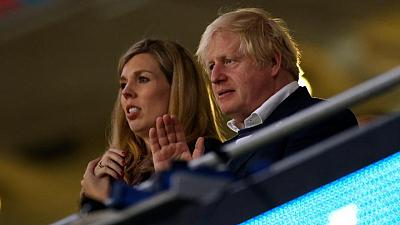 UK PM Johnson, Prince William condemn racist abuse of England soccer team