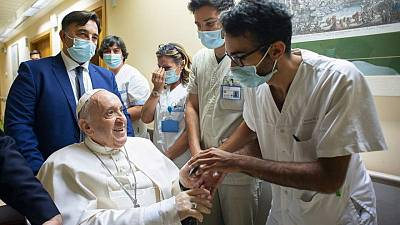 Pope Francis to stay in hospital a few more days, Vatican says