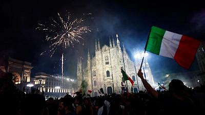 Italy basks in soccer glory, hopes it will help heal national wounds