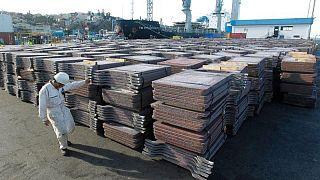 METALES BÁSICOS-Preocupación por demanda china impacta en confianza en el mercado del cobre