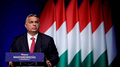 EU holds up Hungary's recovery money in rule-of-law standoff