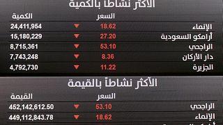 المؤشر السعودي يرتد عن 5 جلسات من الخسائر، والقطري يواصل خسائره