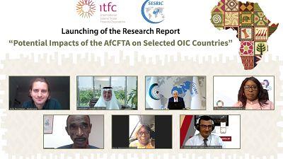 La Société Internationale Islamique de Financement du Commerce (ITFC) et le SESRIC dévoilent leur rapport sur les conséquences économiques de la ZLECAf dans 6 pays