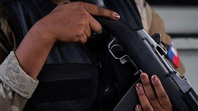 American arrested in Haitian president's killing had U.S. law enforcement ties -source