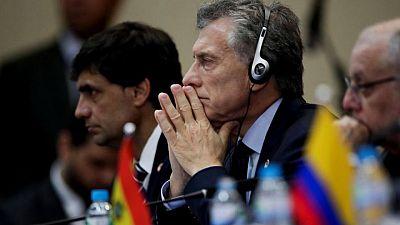 Gobierno de Argentina denuncia a expresidente Macri por envío de material bélico a Bolivia