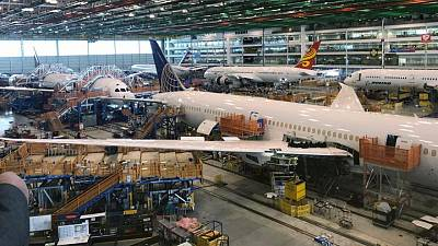 FAA says new Boeing production problem found in undelivered 787 Dreamliners