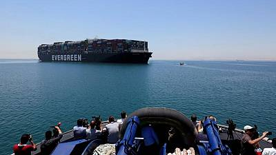 Ever Given container ship leaves Egyptian waters - source