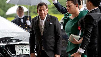 Duterte-Duterte a winning ticket in poll on Philippines election
