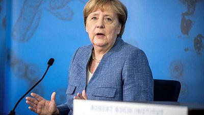 Merkel y Biden se reafirmarán en sus discrepancias sobre el gasoducto ruso y China