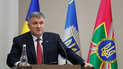 Ukraine's interior minister resigns