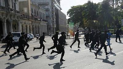 Cuba curbs access to Facebook, messaging apps amid protests -internet watchdog