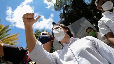 U.S. condemns detention of Venezuelan opposition politician