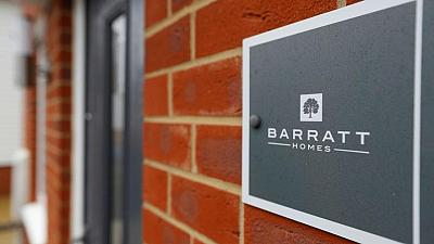 UK's Barratt sees annual profit marginally above market expectations