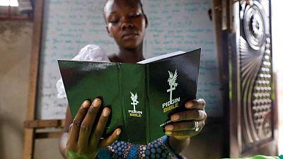 No-stress scripture: Nigerian Christians relish Pidgin Bible