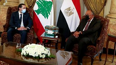 تلفزيون الحدث: مصر تطلب من الحريري عدم الاعتذار عن تشكيل حكومة لبنانية
