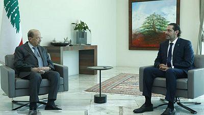 Lebanon's Hariri presents cabinet proposal to President Aoun