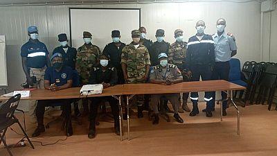Les gestes techniques professionnels d'intervention au centre d'une formation des Forces de sécurité malienne à Mopti