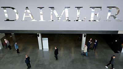 Car maker Daimler reports Q2 preliminary adjusted EBIT of 5.42 billion euros