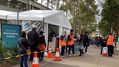 Sydney COVID-19 cases stabilise, southern Australia on alert