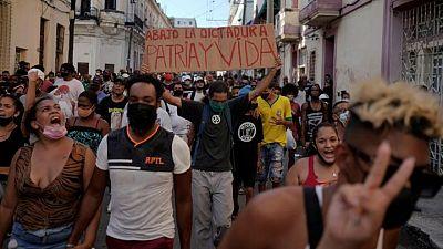 Cuba lifts food, medicine customs restrictions after protests