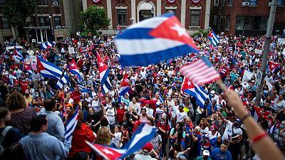 EEUU impondrá sanciones a funcionarios cubanos por represión de protestas: fuente