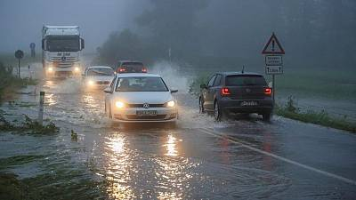 Several people missing in Germany as houses collapse in heavy rain