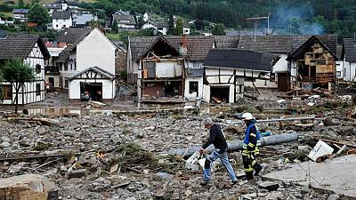 ارتفاع قتلى فيضانات غرب أوروبا إلى أكثر من 20 وفقد العشرات