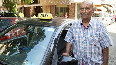 For one Lebanese taxi driver, life is as bitter as his Arabic coffee