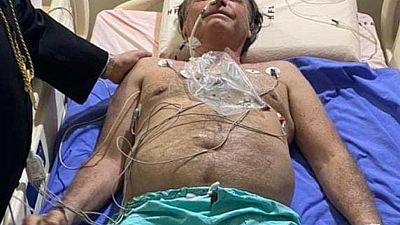 Brazil's Bolsonaro recovering but no forecast for leaving hospital