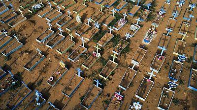 Brasil registra 1.548 nuevas muertes por COVID-19 y total llega a 538.942