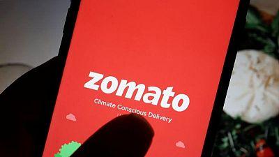 Zomato's $1.3 billion India stock offering draws strong investor appetite