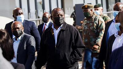 South Africa's president says he won't allow 'anarchy and mayhem'
