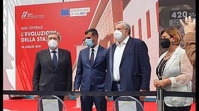 Inaugurazione con ministro Infrastrutture Enrico Giovannini