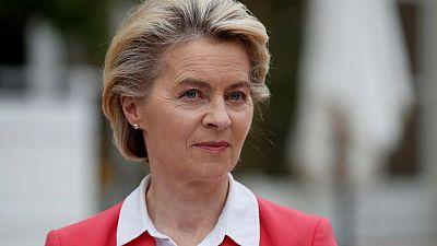 EU's von der Leyen expects pragmatism from UK on Northern Ireland