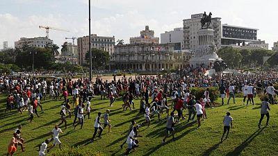 """Presidente cubano rechaza acusaciones de """"Estado fallido"""" de EEUU"""