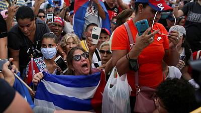 Fake news muddies online waters during Cuba protests
